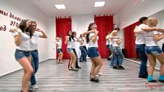 ТК Движение! Танец бачата после 3х месяцев обучения! 18.10.2014