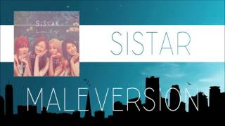 SISTAR - LONELY [MALE VERSION]