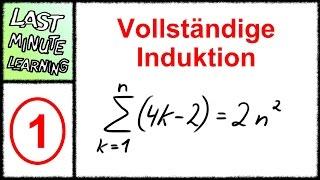 Vollständige Induktion - Aufgabe 1 - Summe über 4k-2