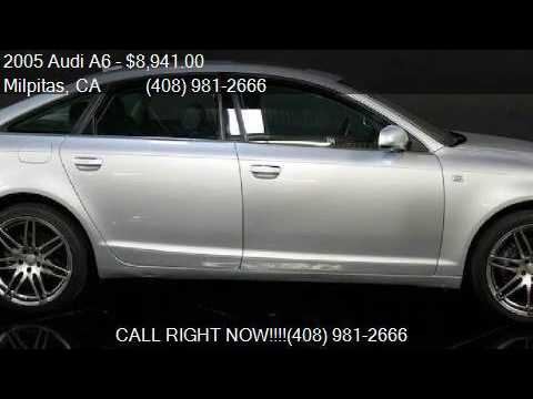 2005 Audi A6 3.2 quattro AWD 4dr Sedan for sale in Milpitas,