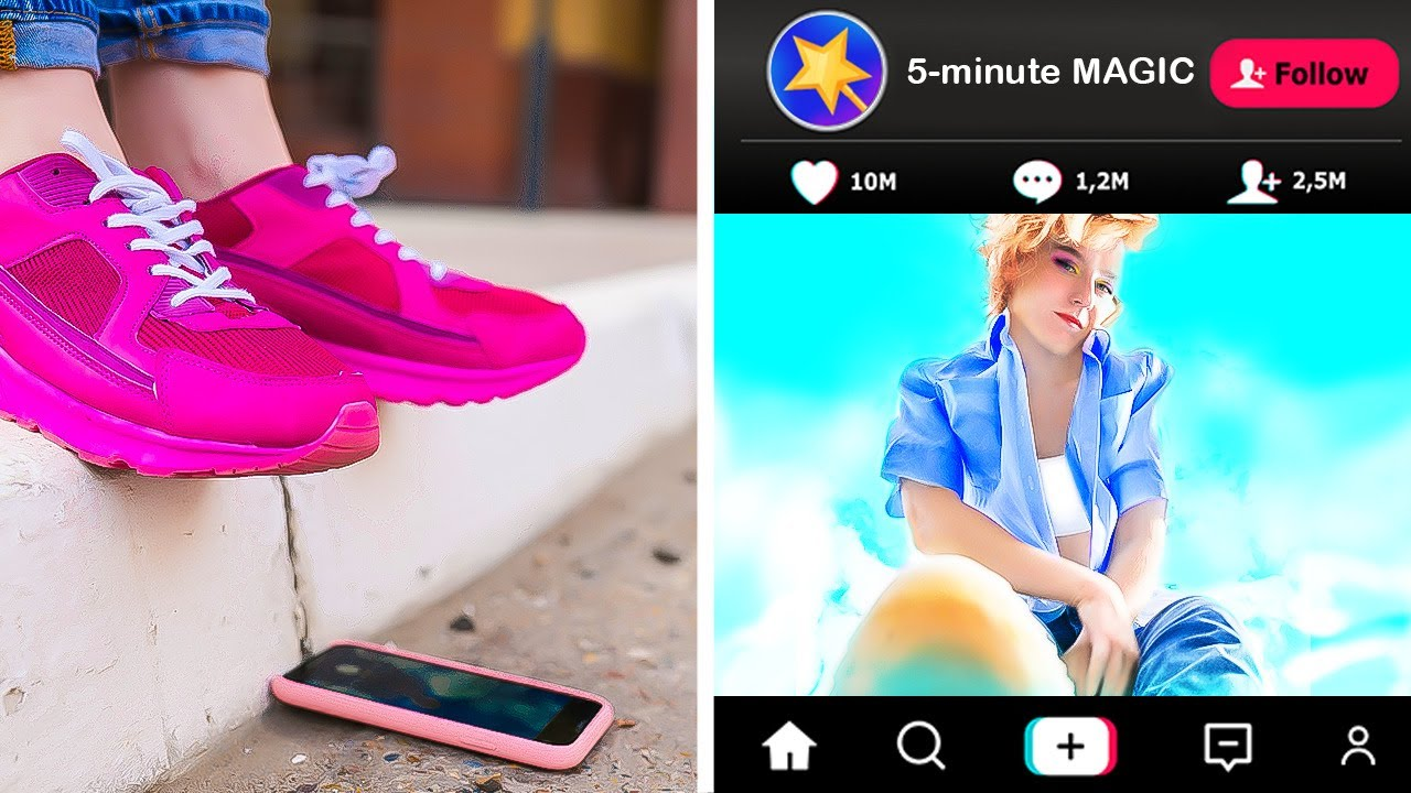 44 CREATIVE PHOTO AND VIDEO tricks to make your social media unique