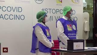 Arrivo vaccino in Sicilia interviste