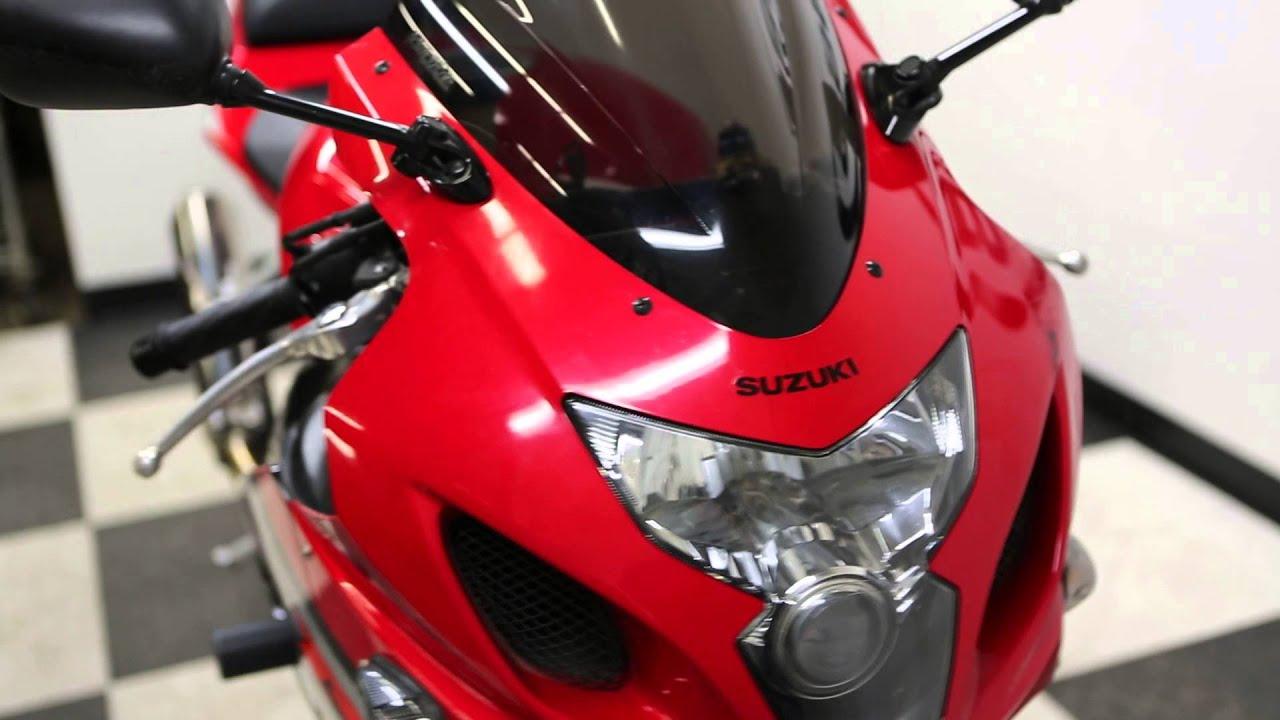 2005 Suzuki GSXR600 Red Black - YouTube