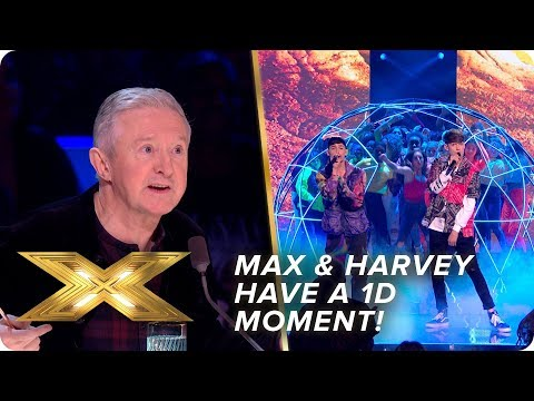 Max and Harvey have a 1D moment with 'Kiss You'  | Semi-Final | X Factor: Celebrity