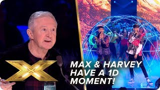 Max and Harvey have a 1D moment with 'Kiss You'    Semi-Final   X Factor: Celebrity