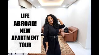WE MOVED ABROAD! NEW APARTMENT TOUR | KUWAIT
