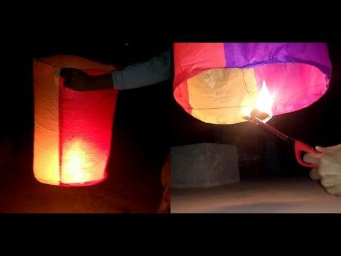 Make an Amazing Hot air Balloon (Sky lantern) | DIY streaming vf