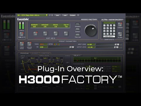 Eventide H3000 Factory Harmonizer Plug-In / Features Demo
