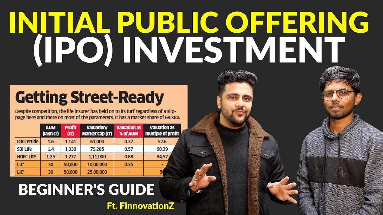 IPO Investment for Beginners Ft. FinnovationZ