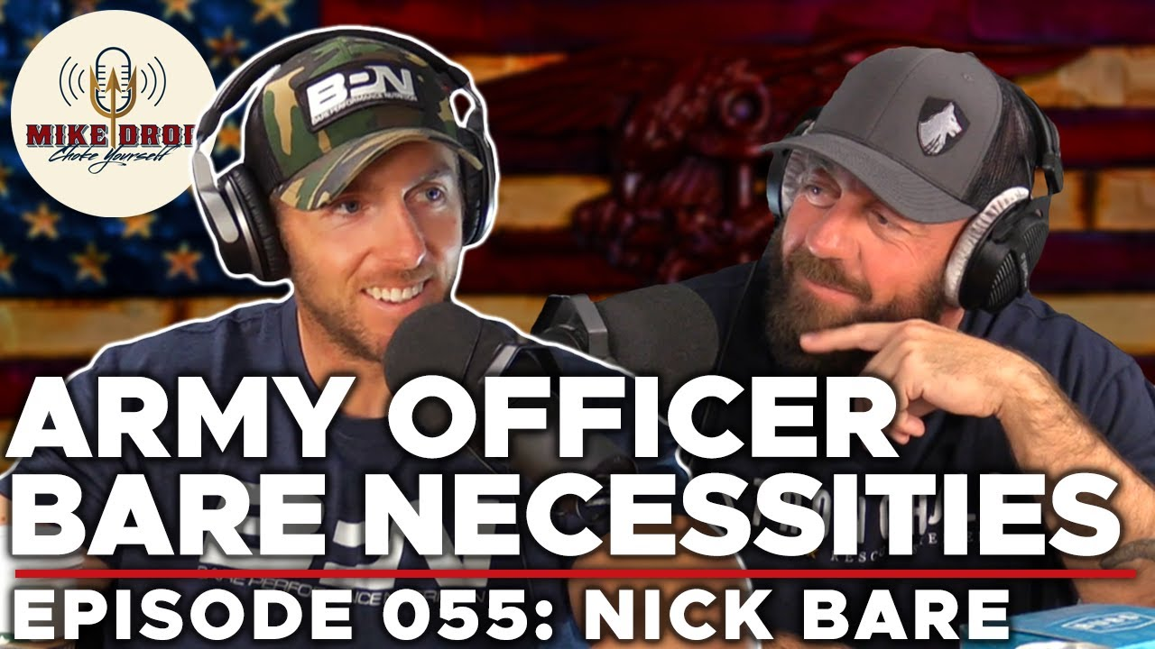 Mike Drop Podcast: Episode 55 - Nick Bare