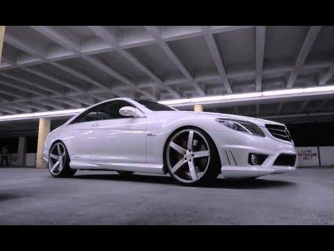 Mercedes Benz Cl63 Series On 22 Quot Vossen Vvs Cv3 Concave