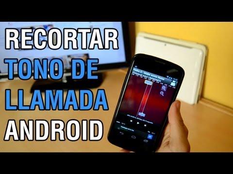 Cómo cortar canción para tono de llamada (Ringtone) en Android