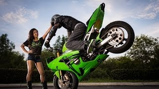 Motorcycle Stunts - Tandem Adventures - Part 1