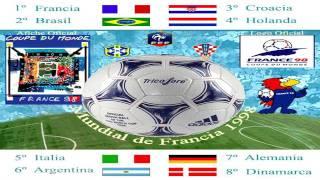 Mundial Francia 1998 World Cup - La Cour des Grands - Composición Gráfica