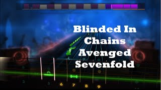 Blinded In Chains - Avenged Sevenfold Guitar Cover -- Rocksmith 2014 Custom Songs
