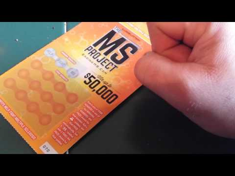 MS PROJECT - IL. LOTTO SCRATCHCARDS... PART 1 OF 5...