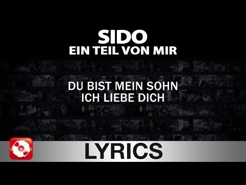 SIDO - EIN TEIL VON MIR - AGGROTV LYRICS KARAOKE(OFFICIAL VERSION)