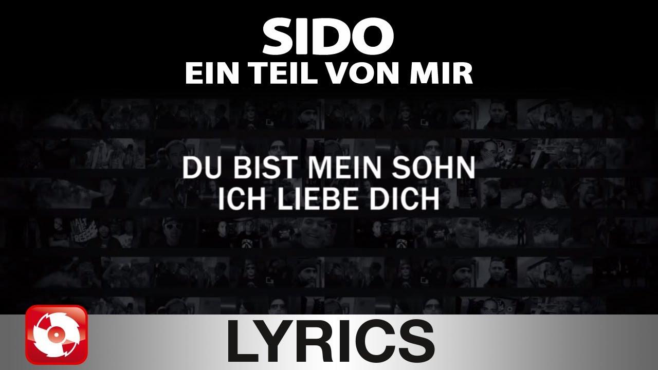 Sido Ein Teil Von Mir Aggrotv Lyrics Karaoke Official Version
