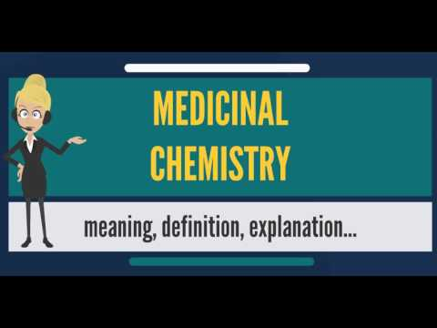 What is MEDICINAL CHEMISTRY? What does MEDICINAL CHEMISTRY mean? MEDICINAL CHEMISTRY meaning