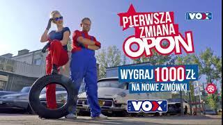 Pierwsza Zmiana Opon w Vox FM!