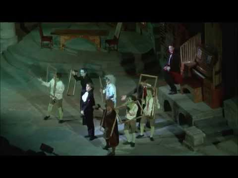 He Yields, He Yields - Ruddigore at the Minack Theatre 2012
