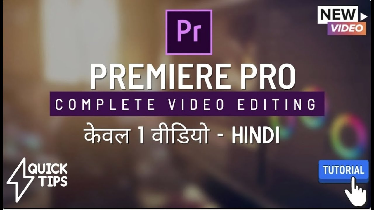 Premiere Video Editing course | Full Training in 1 Video | Basic - Video Editing Training Class Free