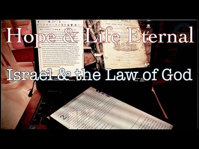 Israel and The Law of God