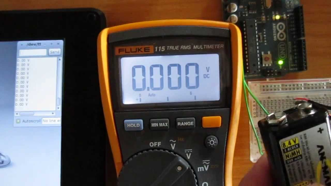 Measuring Voltage with Arduino