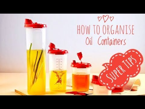 How To Organise Oil Containers   Super Tips  Kitchen Tour 2
