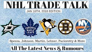 NHL Trade Talk - Leafs, Penguins, Bruins, Stars & Islanders