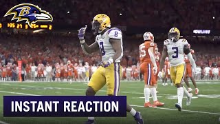Morning Reaction to Ravens' Pick of Patrick Queen