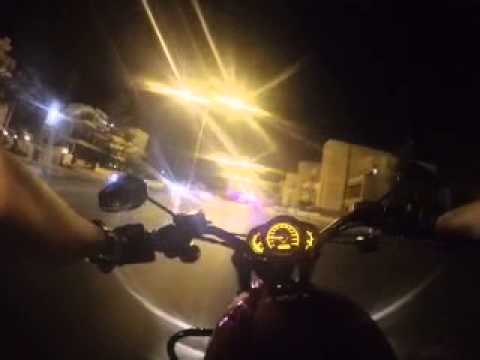Amman by night - solo motorcycle ride