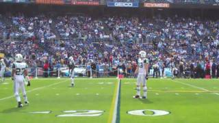 Jets Chargers Pre Game Warm Up Offense Defense