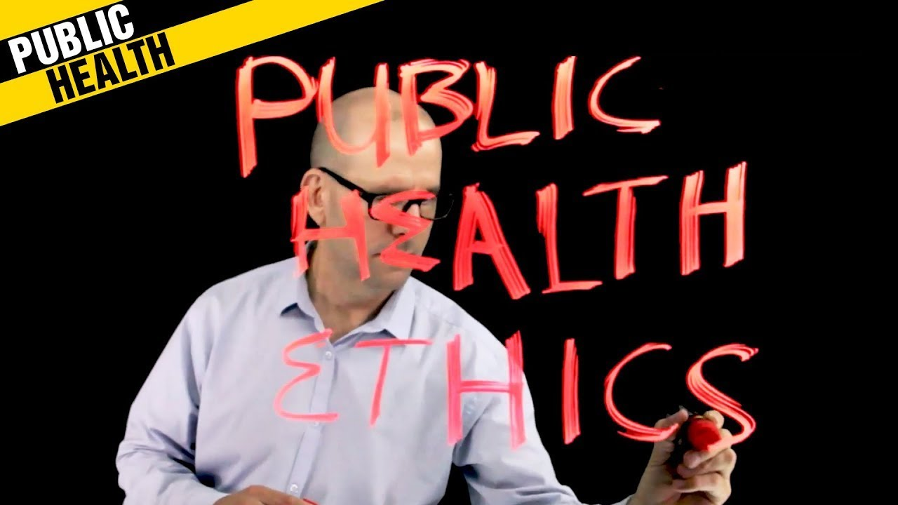 Public Health Ethics. Thinking about bioethics, human rights, justice and moral responsibility