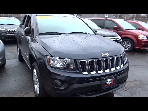 2015 jeep compass matteson lansing oak lawn northwest indiana chicago il p14291 youtube. Black Bedroom Furniture Sets. Home Design Ideas