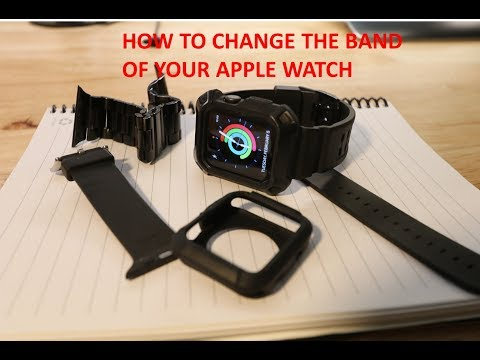How To Change The Apple Watch Band Series 1 2 3 And 4