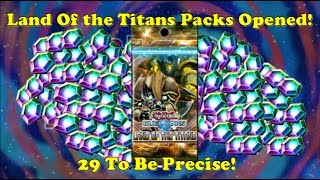 yu gi oh duel links land of the titans pack opening 29 is our magic number