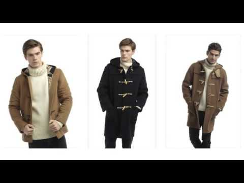 Original Montgomery Mens Wooden Toggles Duffle Coat - YouTube