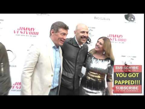 Matt Glave and Maz Jobrani at Comedian Maz Jobrani's Premiere Of Jimmy Vestvood Amerikan Hero at  La