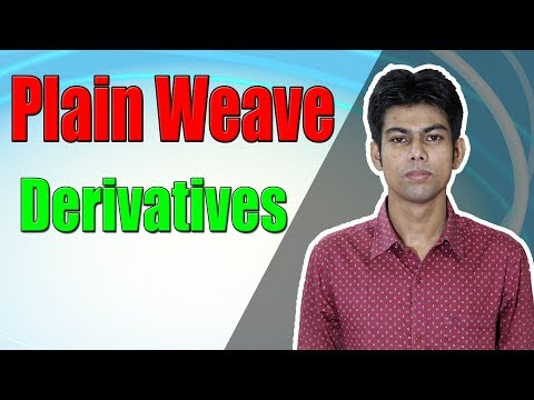 Plain weave derivatives