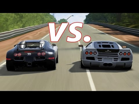 HENNESSEY VENOM GT VS BUGATTI VEYRON + HENNESSEY VENOM GT TOP SPEED X BUGATTI VEYRON TOP SPEED