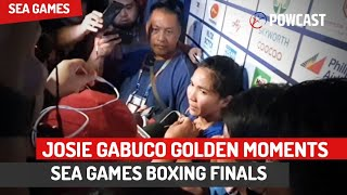 Josie Gabuco Unseen SEA Games Gold Moments Vlog | 30th South East Asian Games Boxing