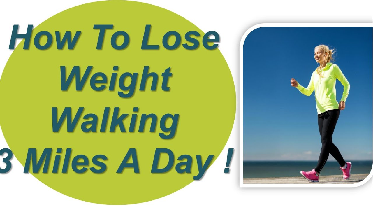 can you lose weight by walking 5 miles a day