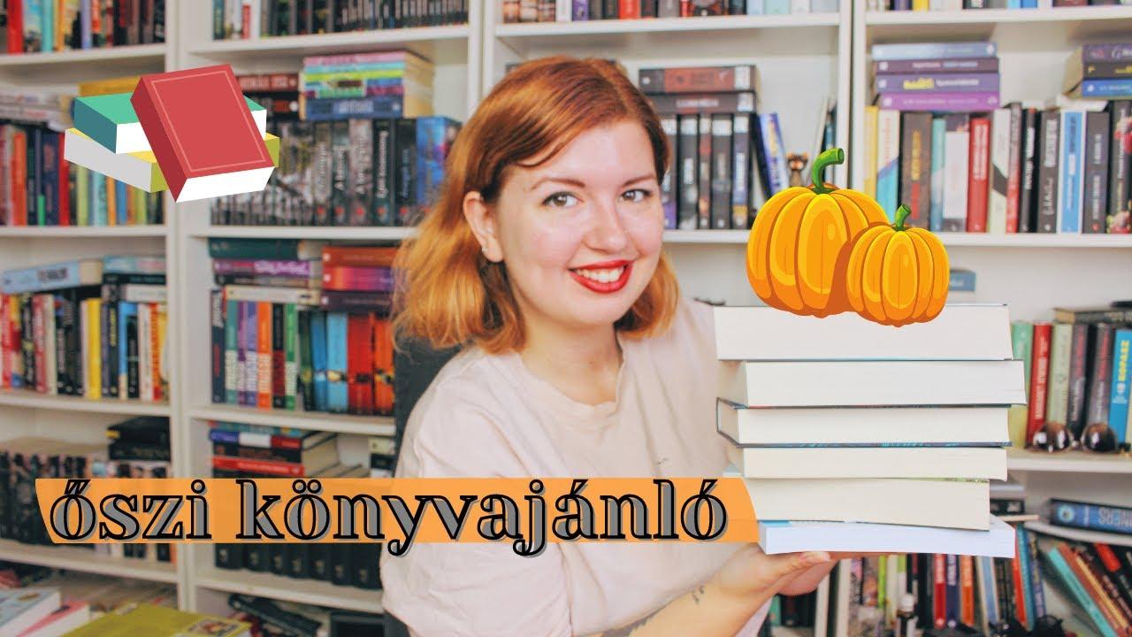 KÖNYVKLUB: ŐSZI KÖNYVAJÁNLÓ 🍂 pszichológia, horror/thriller, családregények, spooky könyvek - YouTube