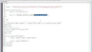 видео Безопасность языка PHP