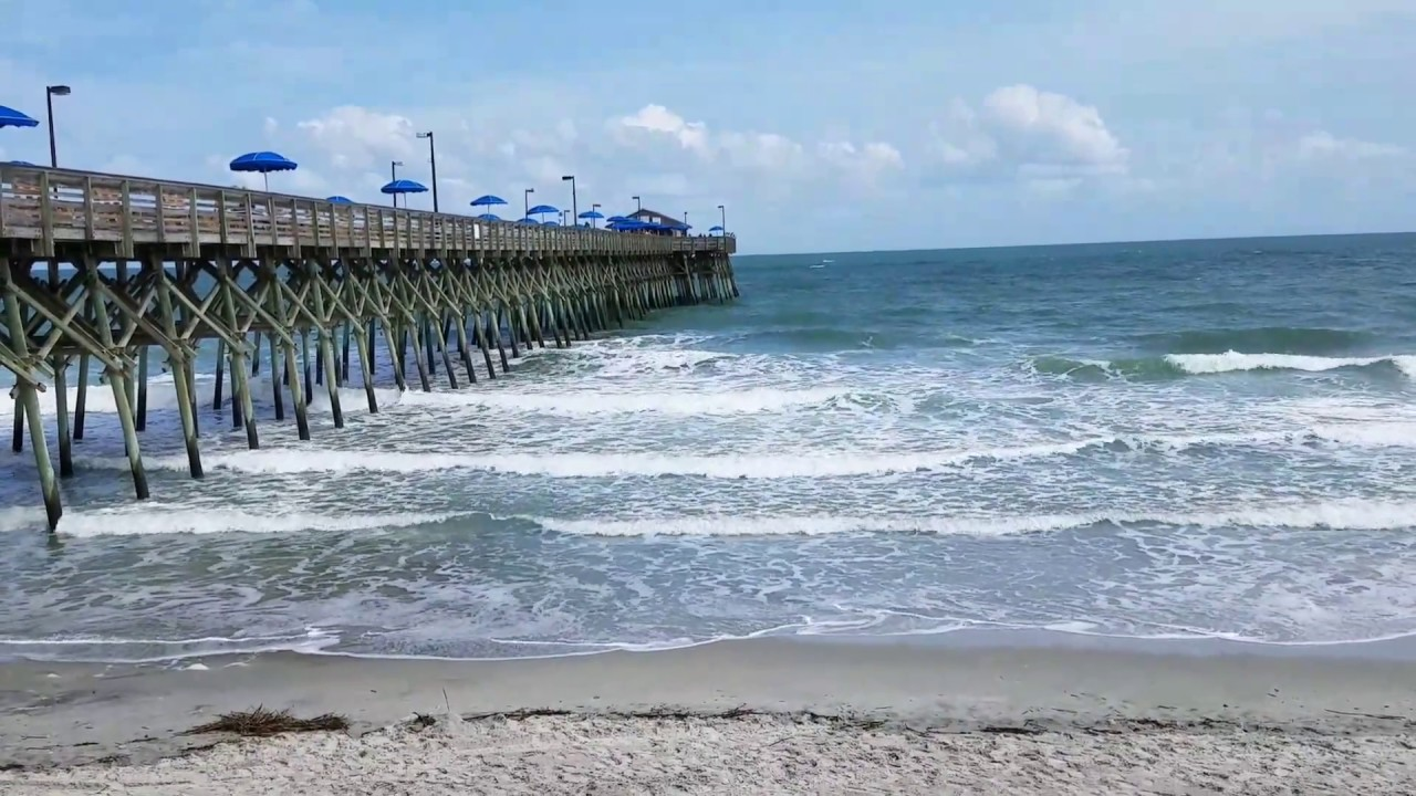 The Garden City Pier In South Carolina Today May The Fourth 2017