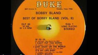 Watch Bobby Bland Its My Life Baby video