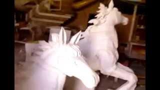 styrofoam sculpture work shop 1 ( vinod kollam)