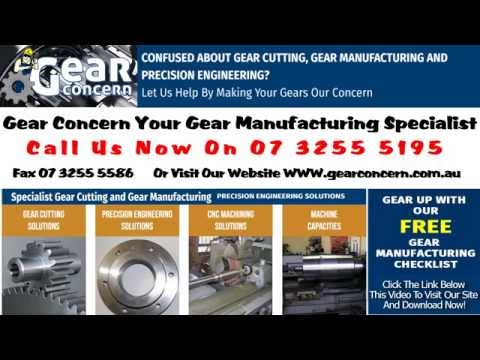 Gear Cutting Spiral Bevel Gear Pinion Machining Brisbane Queensland