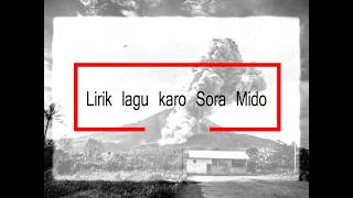 Download Mp3 Lirik Lagu Karo _ Sora Mido